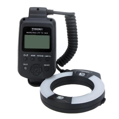 YONGNUO YN-14EX Macro Ring Flash Light for Canon EOS DSLR Camera
