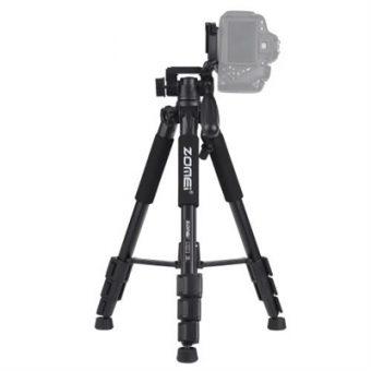 "ZOMEI Q111 142cm/56"" Lightweight Portable Aluminum Alloy Camera Travel Tripod"