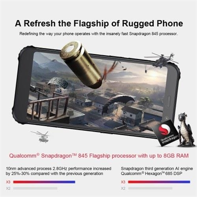 (EU Version)AGM X3 Rugged Smartphone 8GB+128GB IP68 Waterproof