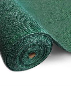 Instahut 50% UV Sun Shade Cloth Shadecloth Sail Roll Mesh Garden Outdoor 3.66x30m Green