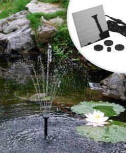 Solar Power Submersible Water Pump Garden Pond Fountain 1.5W