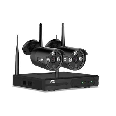 UL-TECH 1080P 4CH Wireless Security Camera NVR Video [CCTV-WF-CLA-4C-2B]