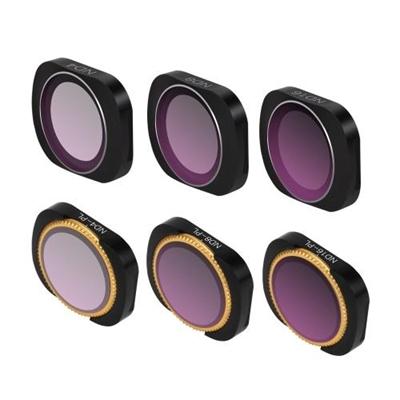 Sunnylife Camera Lens Filter ND4 ND8 ND16 ND4-PL ND8-PL ND16-PL for DJI OSMO POCKET