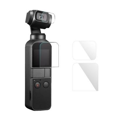 Camera Lens & Screen Film Protector Fiberglass Protective Film Cover Kit
