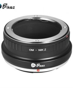 Fikaz High Precision Lens Mount Adapter Ring Aluminum Alloy for Olympus OM Lens to Nikon Z6 Z7 Z-Mount Mirrorless Camera OM-NIKZ
