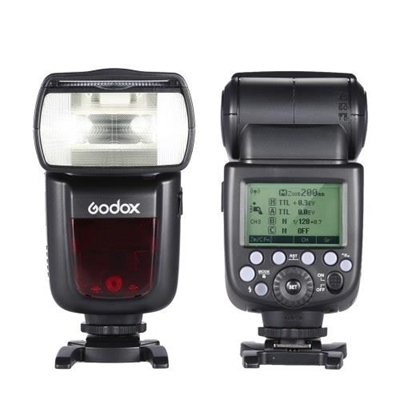 Godox V860II-C E-TTL 1/8000S HSS Master Slave GN60 Speedlite Flash Built-in 2.4G Wireless X System with 2000mAh Rechargeable Li-ion Battery