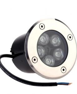 Lixada 5W LED Outdoor Ground Garden Path Buried Lights