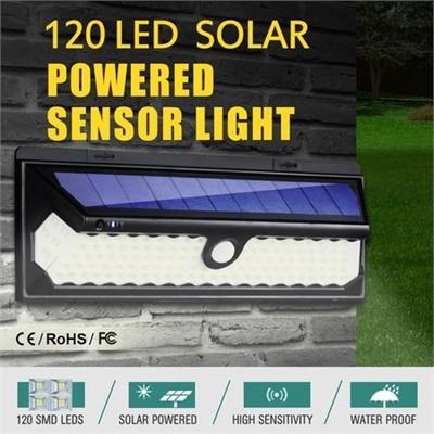 120 LED Solar Light Outdoor Motion Sensor Detection 1200LM Garden Security Floodlight