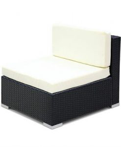 3PC Gardeon Outdoor Furniture Sofa Set Wicker Rattan Garden Lounge Chair Setting