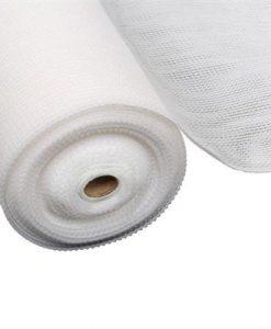 Instahut 1.83x20m 50% UV Shade Cloth Shadecloth Sail Garden Mesh Roll Outdoor White