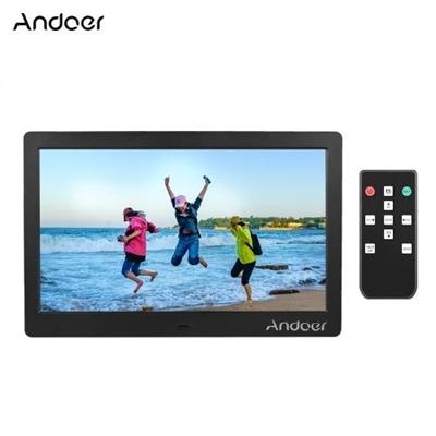 Andoer 10 Inch IPS Digital Photo Frame