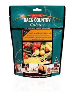 Backcountry Beef & Pasta Hotpot Freeze Dri Food - 5 Serve