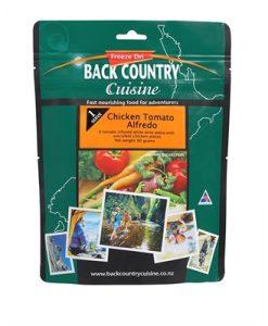 Backcountry Chicken Tomato Alfredo Freeze Dri Food - 1 Serve