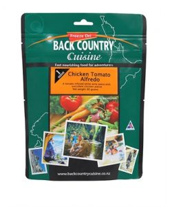 Backcountry Chicken Tomato Alfredo Freeze Dri Food - 2 Serve