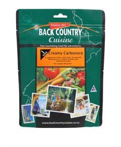 Backcountry Creamy Cabonara Freeze Dri Food - 2 Serve