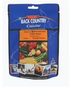 Backcountry Creamy Mushroom & Potato Soup Freeze Dri Food