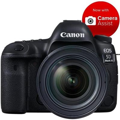 Canon EOS 5D IV Full Frame DSLR Camera with EF 24-70mm Lens 4K Video