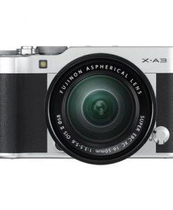 Fujifilm X-A3 Mirrorless Camera with XC 16-50mm Lens (Silver)