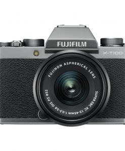 Fujifilm X-T100 Mirrorless Camera with XC 15-45mm Lens 4K Video (Dark Silver)