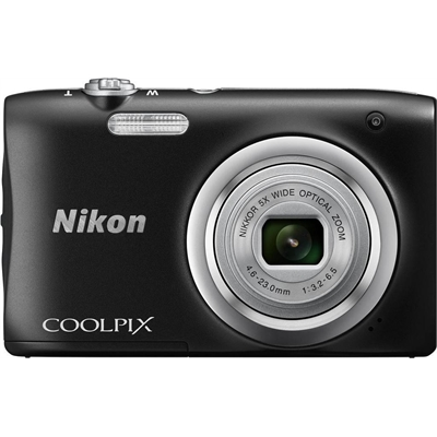 Nikon Coolpix A100 Compact Digital Camera (Black)