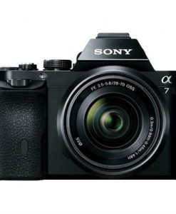 Sony Alpha A7 Full Frame Mirrorless Camera with 28-70mm Lens