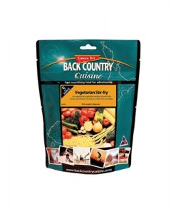 Back Country Cuisine Vegetarian Stirfry Freeze Dri Food - 5 Serve