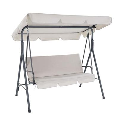 Gardeon Outdoor Swing Chair Hammock 3 Seater Garden Canopy Bench Seat Backyard [GSC-BST-3S-BE]