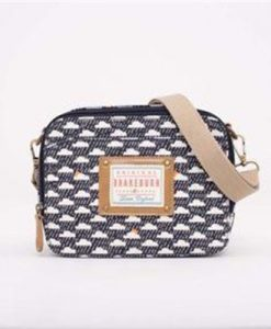 Brakeburn Rain Cloud Camera Bag Navy