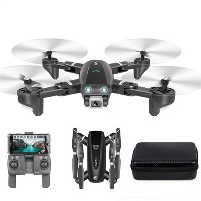 CSJ S167 GPS 2.4G WIFI FPV Drone with 4K Camera 2 Batteries Handbag