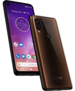 Motorola One Vision 128GB Handset (Bronze) (unlocked)