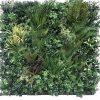 Autumn Greenery Bespoke Vertical Garden | Green Wall UV Resistant 90cm X 90cm