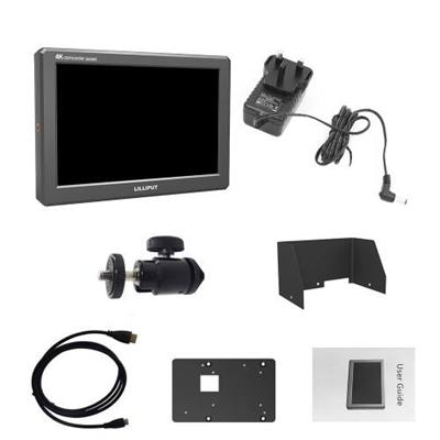 "LILLIPUT A8 4K 8.9/"" IPS-Display 1920*1200 800:1 HDMI DSLR Kamera Monitor Kit"