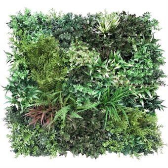 Native Meadows Bespoke Vertical Garden | Green Wall UV Resistant 90cm X 90cm