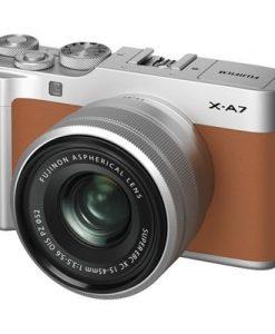 Fujifilm X-A7 Camera w/ XC 15-45mm f/3.5-5.6 OIS Lens (Camel Silver) | CameraPro Australia