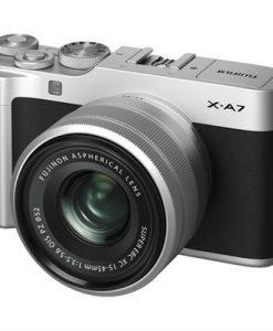 Fujifilm X-A7 Camera w/ XC 15-45mm f/3.5-5.6 OIS PZ Lens (Silver) | CamerPro Australia