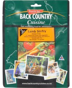 Back Country Cuisine Lamb Stirfry Single Freeze Dri Food - 1 Serve