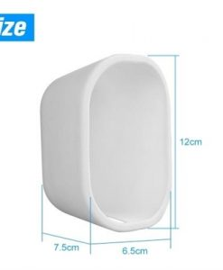 1 Pack Silicone Skin for Arlo Light Security Cameras Weatherproof UV-resistant Case , White